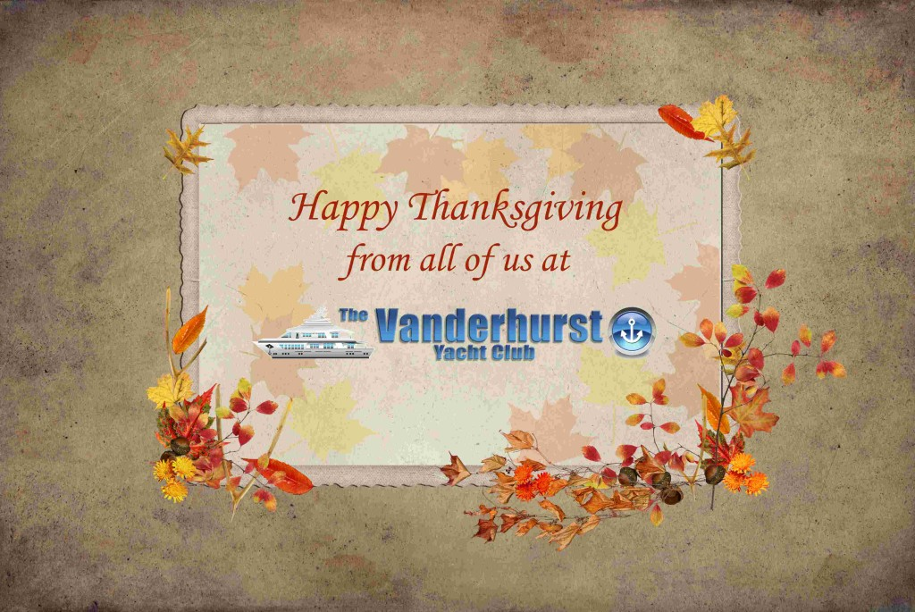 happy thanks giving yacht